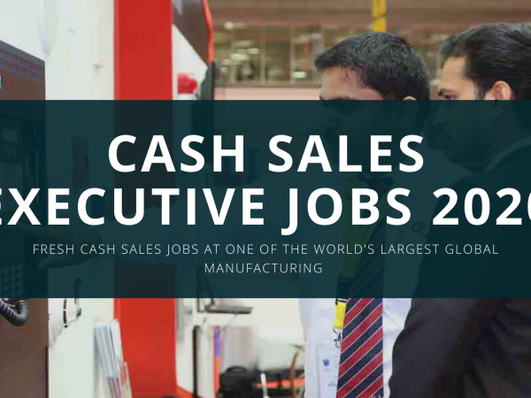 CEMEX Jobs 2020 - Cash Sales Executive new Jobs