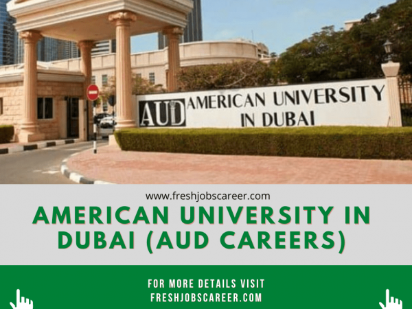 AUD Careers and Employment Opportunities 2021
