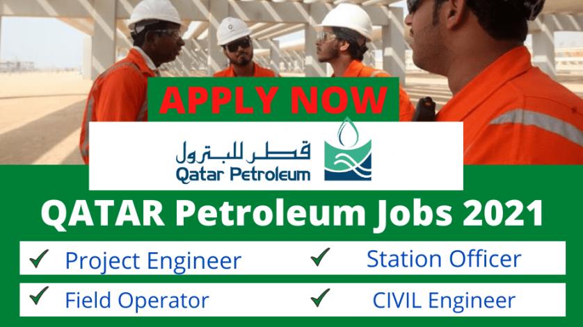 Qatar Petroleum Jobs 2021 | QP Careers