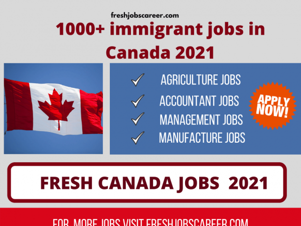 Wonderful jobs in Canada