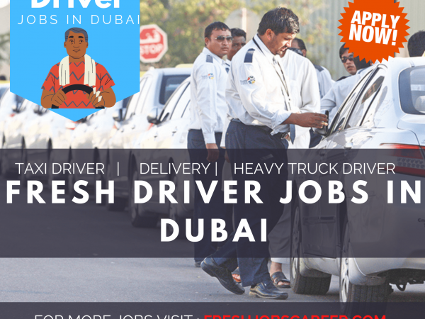 Driver Jobs in Dubai 2021