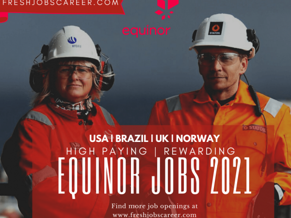 Equinor Jobs and Equinor Careers 2021
