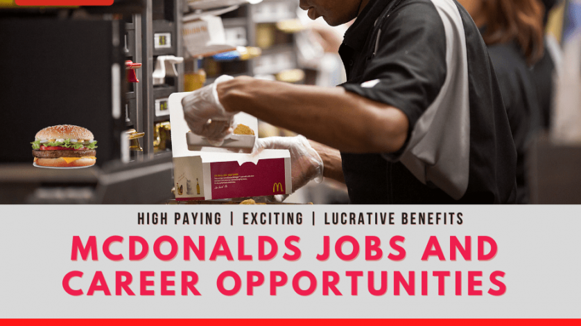McDonald's Careers and McDonalds Jobs Lates and Fresh