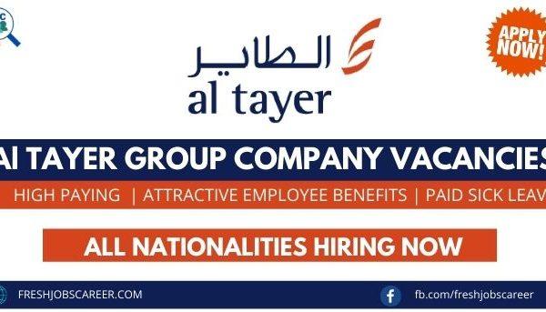 Al Tayer Careers and latest Job Vacancies 2021