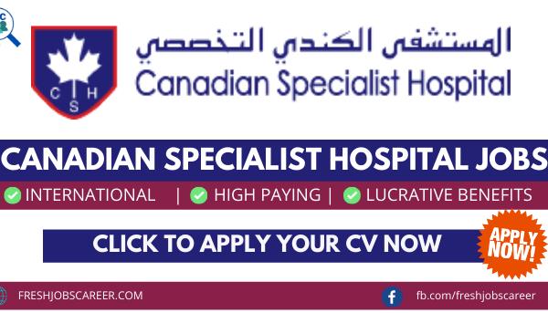 Canadian Hospital Careers and Latest Job Vacancies