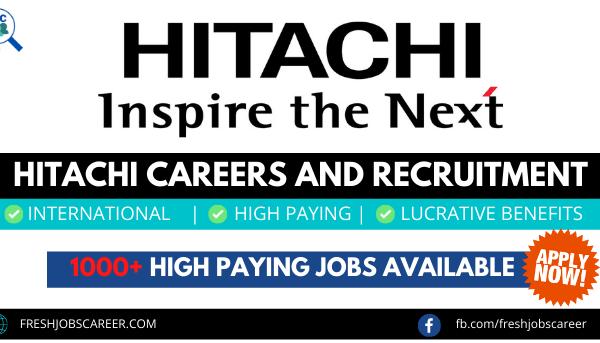 Hitachi Careers and Latest Job Vacancies 2021