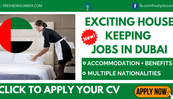 Housekeeping Jobs in Dubai Latest Recruitment and Vacancies