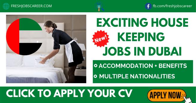 Housekeeping Jobs in Dubai Latest Recruitment and Vacancies