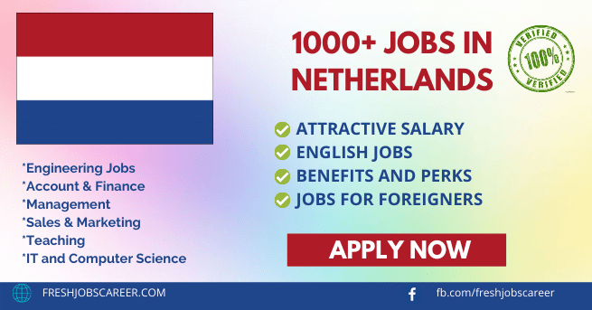 High Paying Jobs in Netherlands 2021