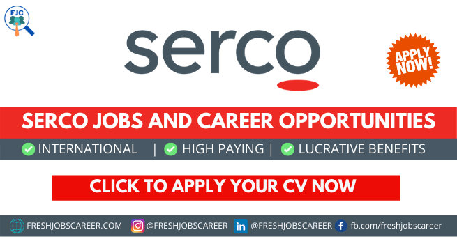 Serco Jobs and Latest Career Vacancies 2021