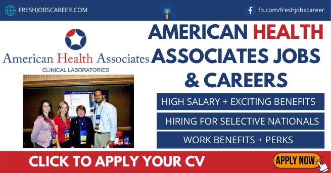 American Health Associates Jobs