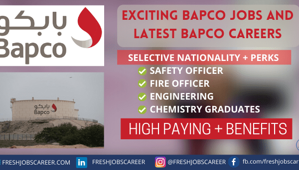 Bapco Careers and Latest Job Vacancies 2021