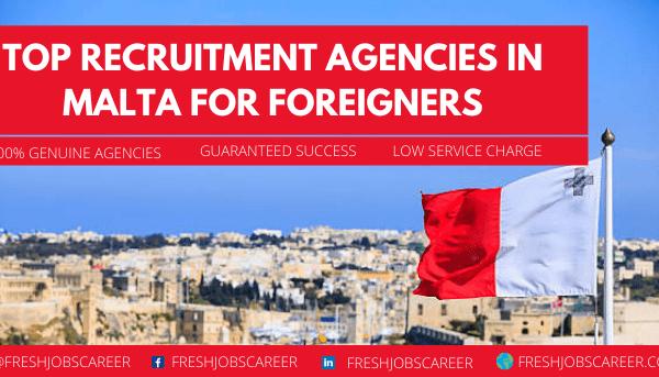 List of Recruitment Agencies in Malta in 2021
