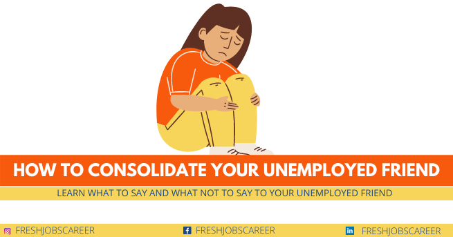 How to consolidate your unemployed friend