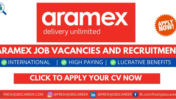 Aramex Careers and Latest Job Openings 2021
