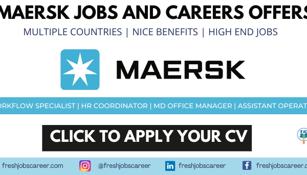 Maersk Careers Latest Job Opportunities