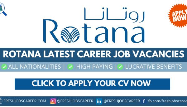 Rotana Careers latest career vacancies