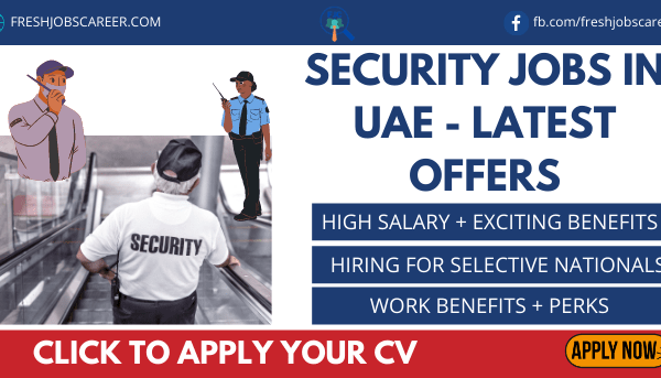 Security Jobs in UAE Latest Announcement
