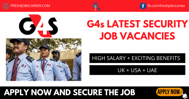 G4s jobs and Latest g4s careers in 2021